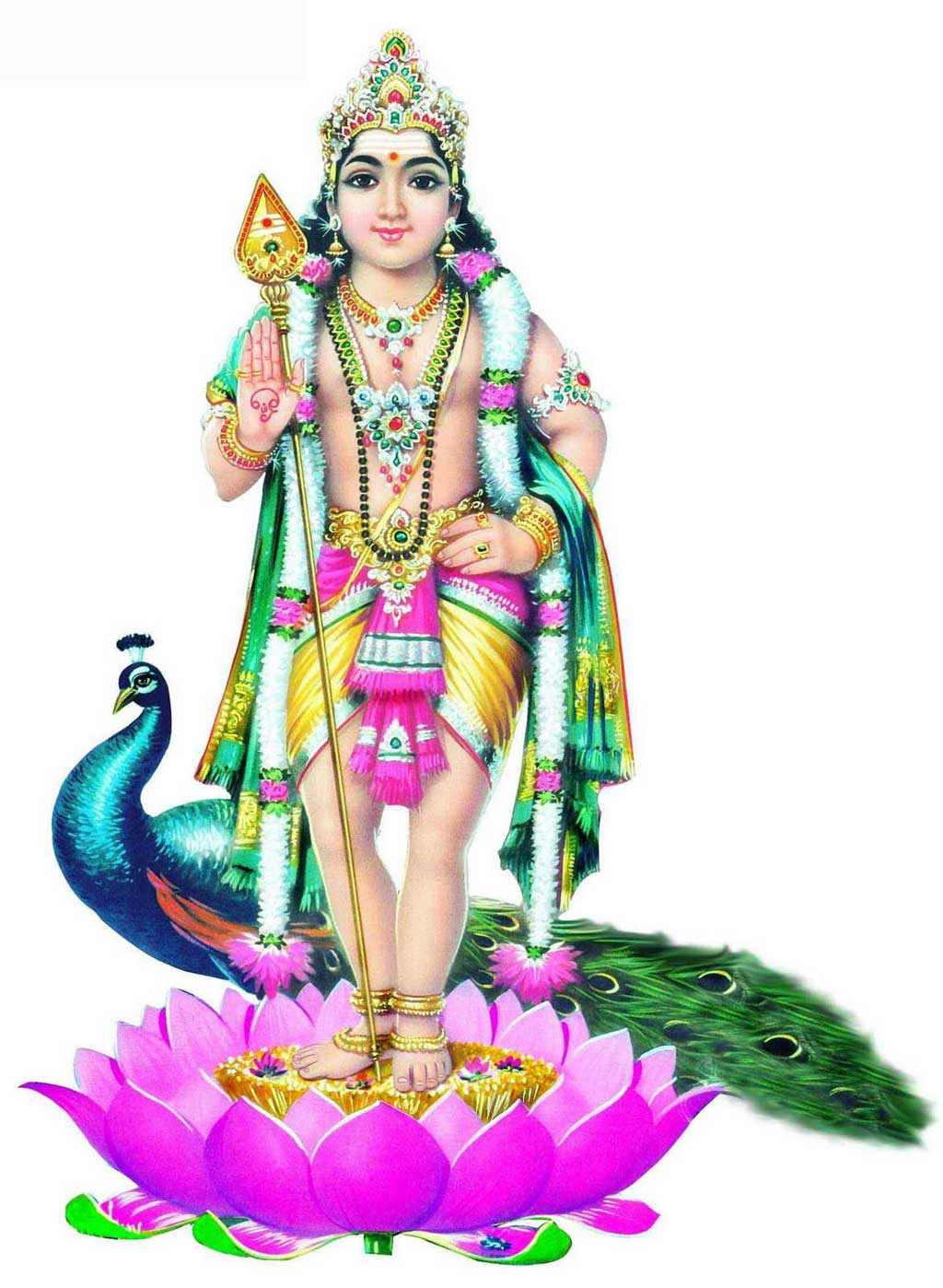 GODS CLIPARTS AND IMAGES: LORD MURUGA - Lord Murugan PNG