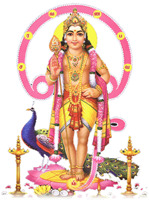 Worship Lord Muruga on Aadi Krithigai - Lord Murugan PNG