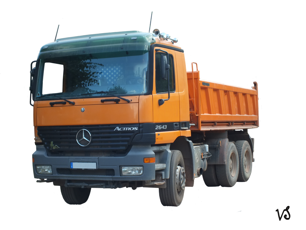 . PlusPng.com actros 6x4.png PlusPng.com  - Lorry PNG HD