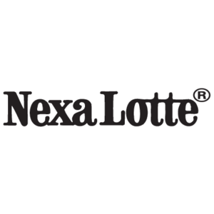 Free Vector Logo Nexa Lotte - Lotte Logo Vector PNG