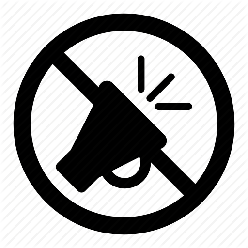 honking, loud, no, noise, prohibition, signs, warning icon - Loud PNG Black And White