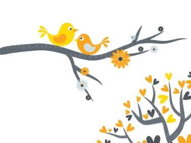 Love Birds PNG - 8441