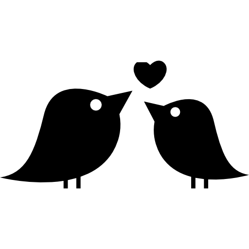 Couple of love birds free icon - Love Birds PNG