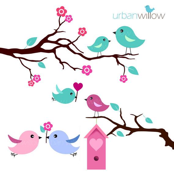 Love Birds PNG - 8443