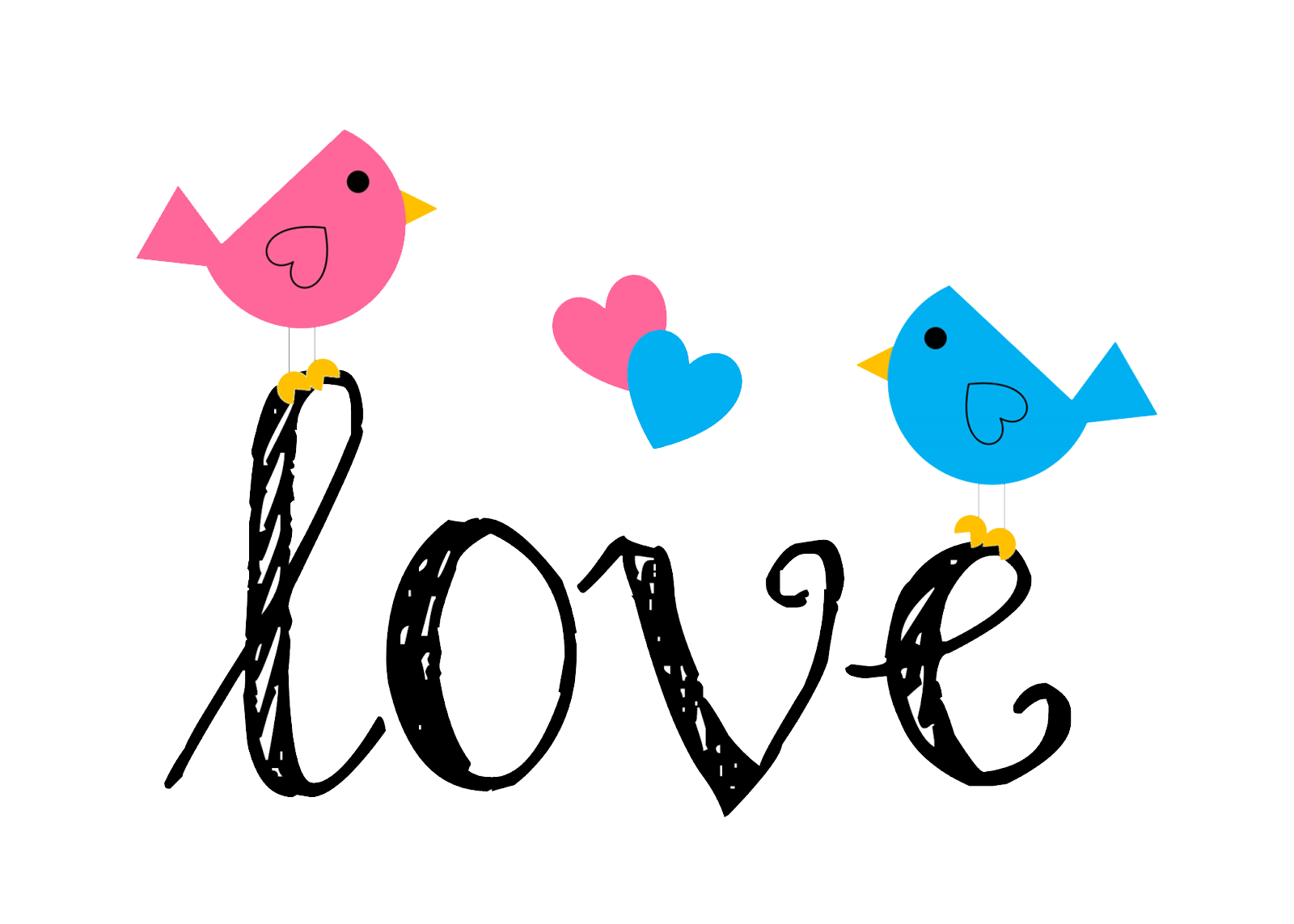 Love Birds PNG