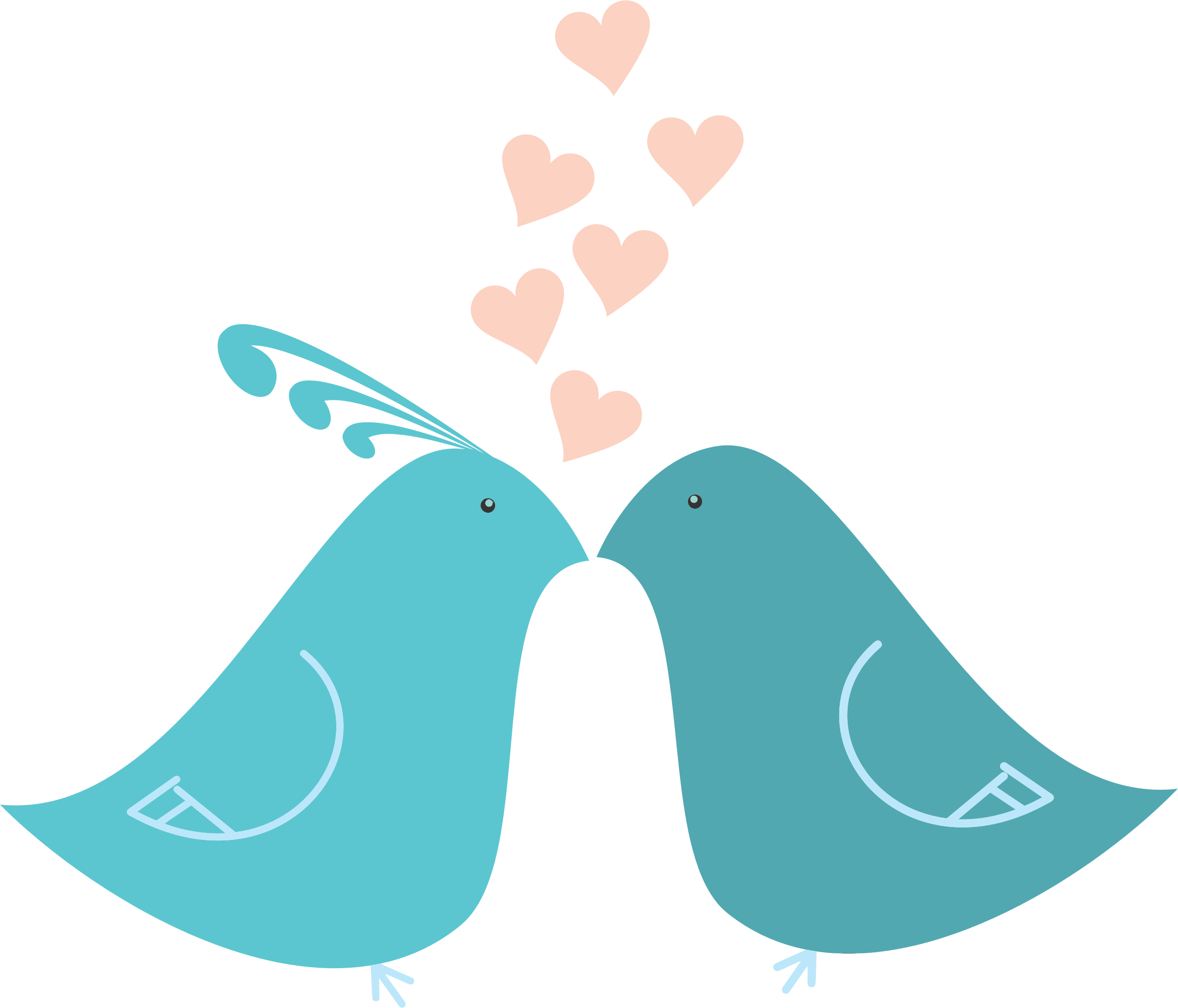 Love Birds Png Clipart PNG Image - Love Birds PNG