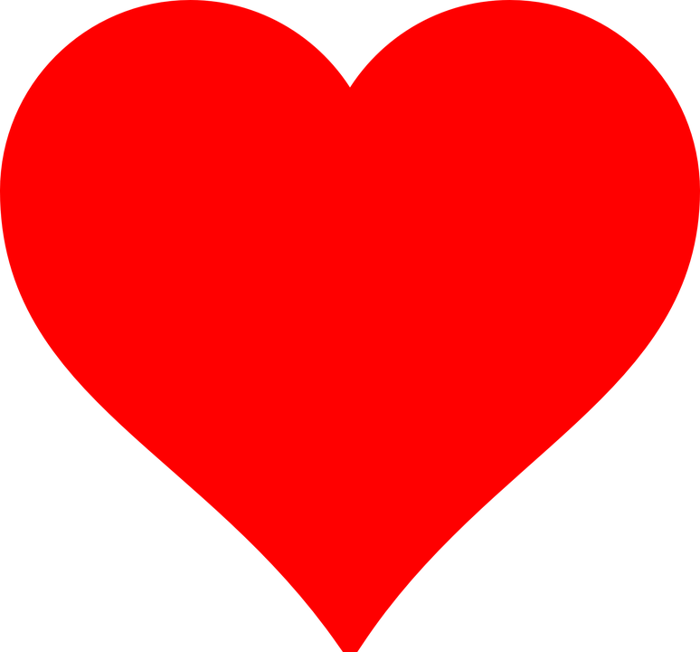 Heart, Love, Thanks, Romance, Red - Love Hearth HD PNG