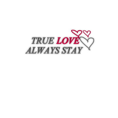 Love Text Transparent
