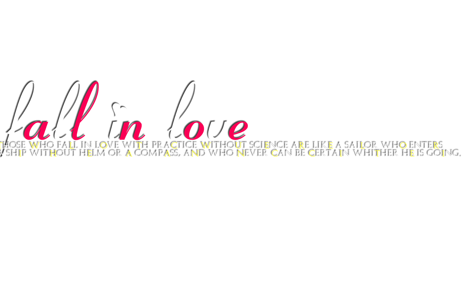 Love Text Png In One Line. By