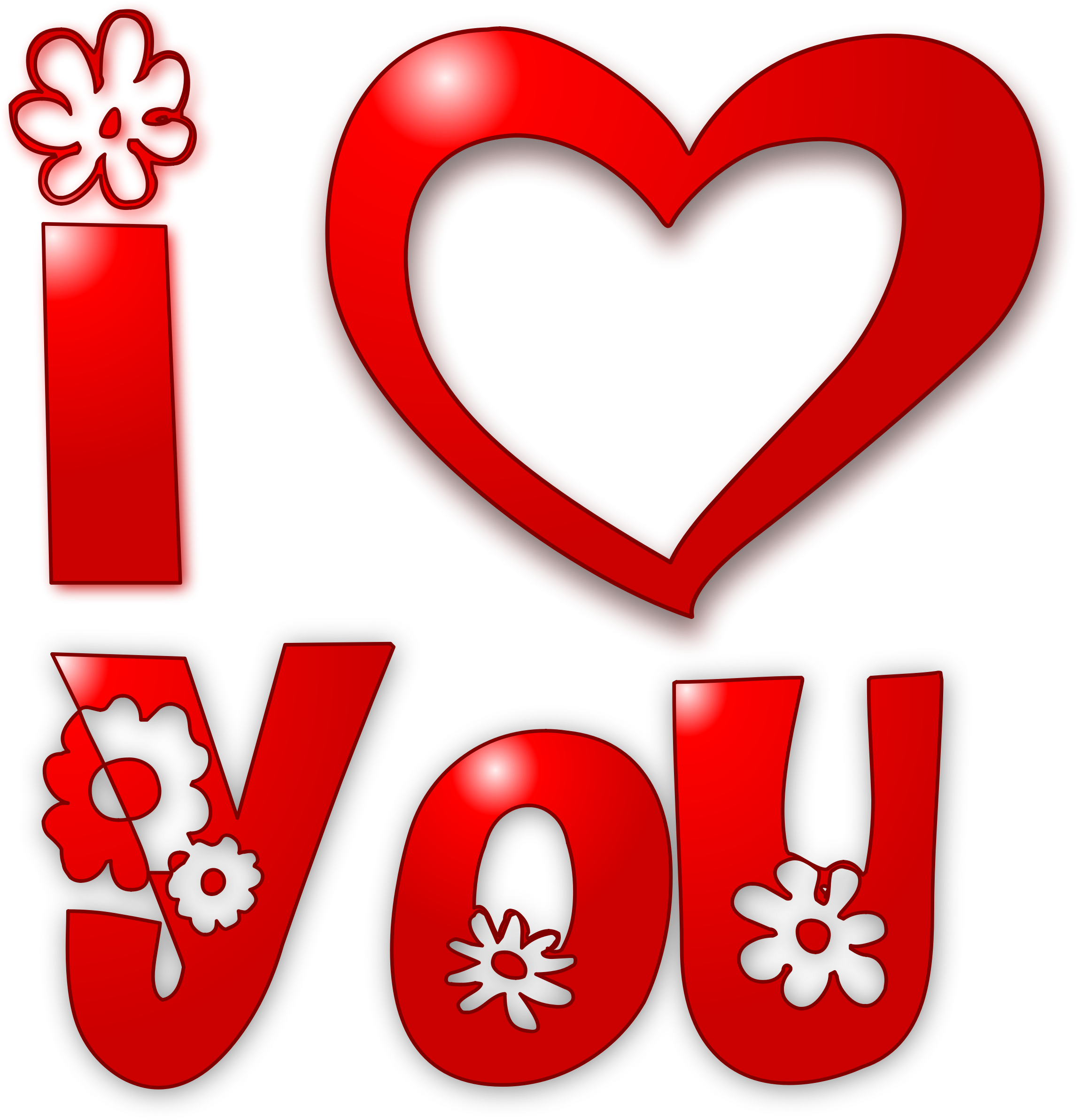 Love You PNG HD - 125833