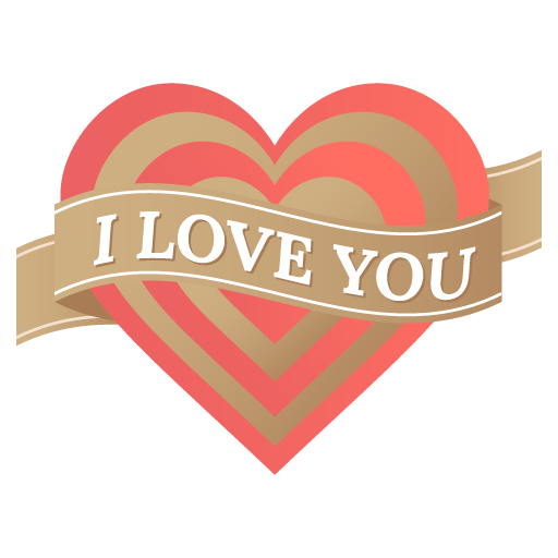 I love you heart Icon | Valentine Iconset | DesignBolts - Love You PNG HD