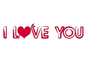 Love You PNG HD - 125830