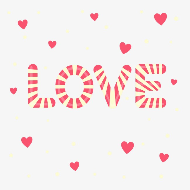 Vector candy love you, Hd, Ve
