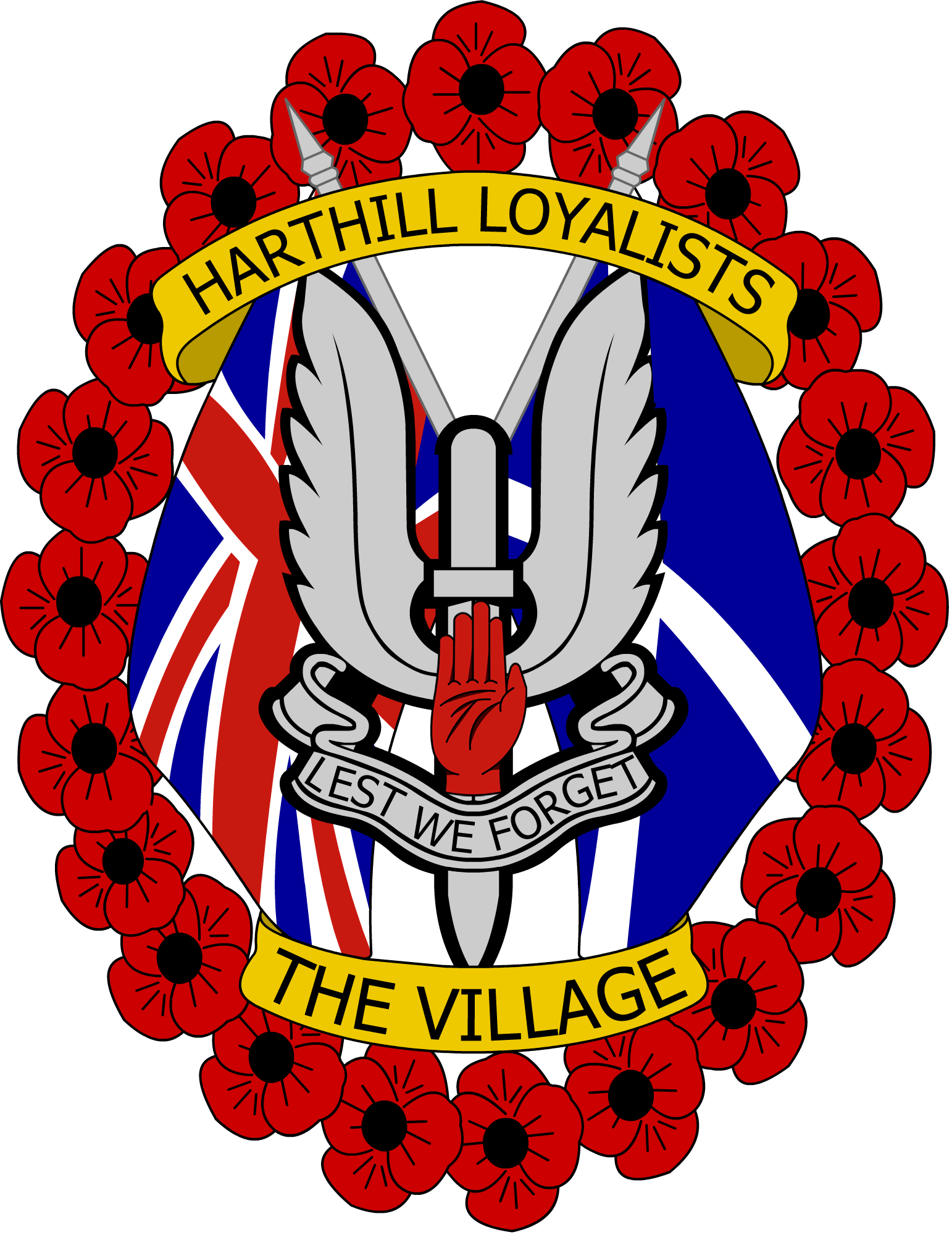 Harthill Loyalists .png - Loyalist PNG
