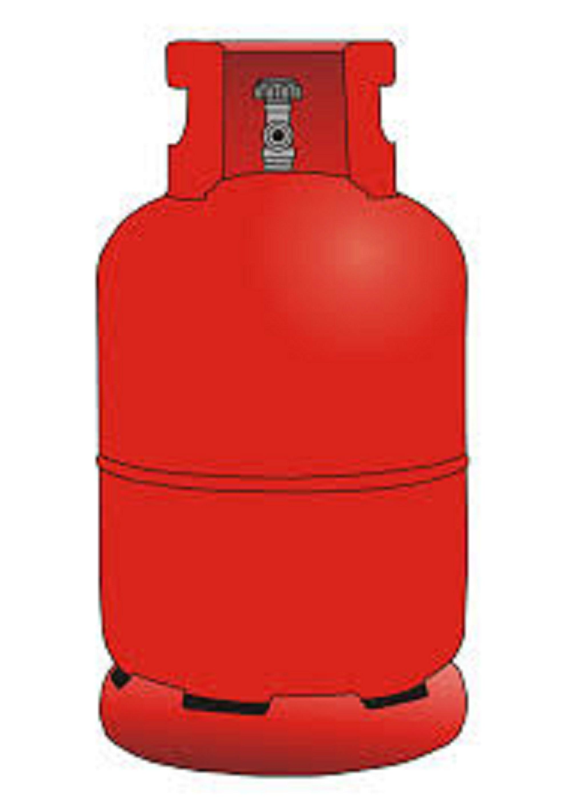 Empty Gas Cylinder - Lpg Cylinder PNG