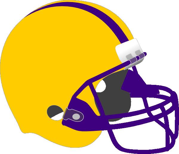 Football Helmet clip art - vector clip art online, royalty free - Lsu Football PNG Free