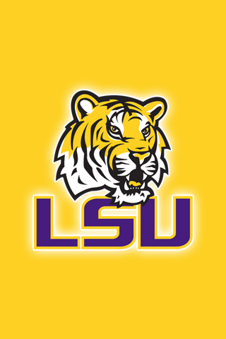Free LSU Tigers iPhone iPod Touch Wallpapers - Lsu Football PNG Free