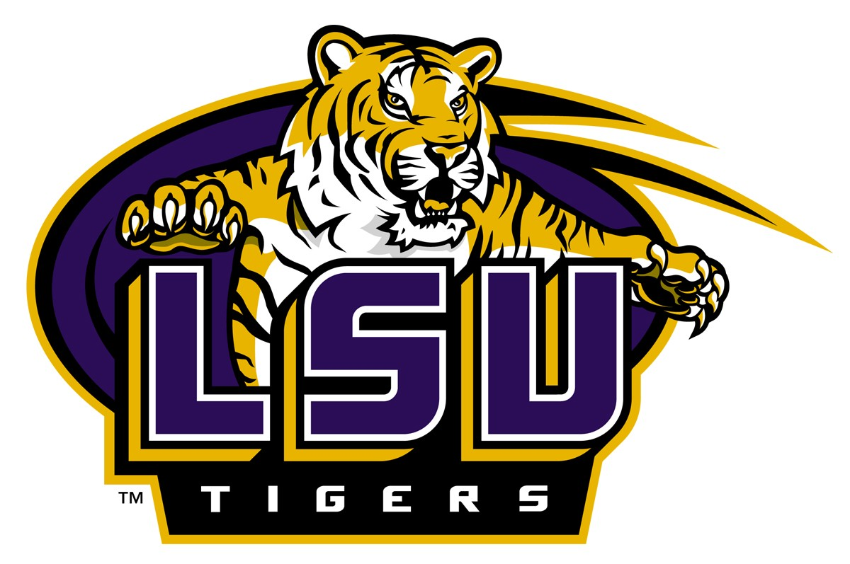 Lsu Clip Art - Clipart library - Lsu Football PNG Free