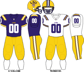LSU uniforms.png - Lsu Football PNG Free