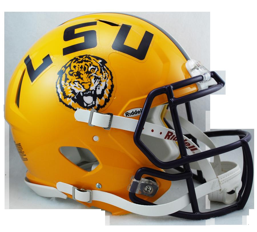 LSU Revolution Speed Authentic Helmet - Lsu Football PNG