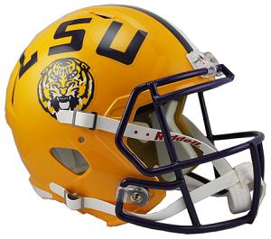 LSU Tigers Replica Speed Helmet - Lsu Football PNG