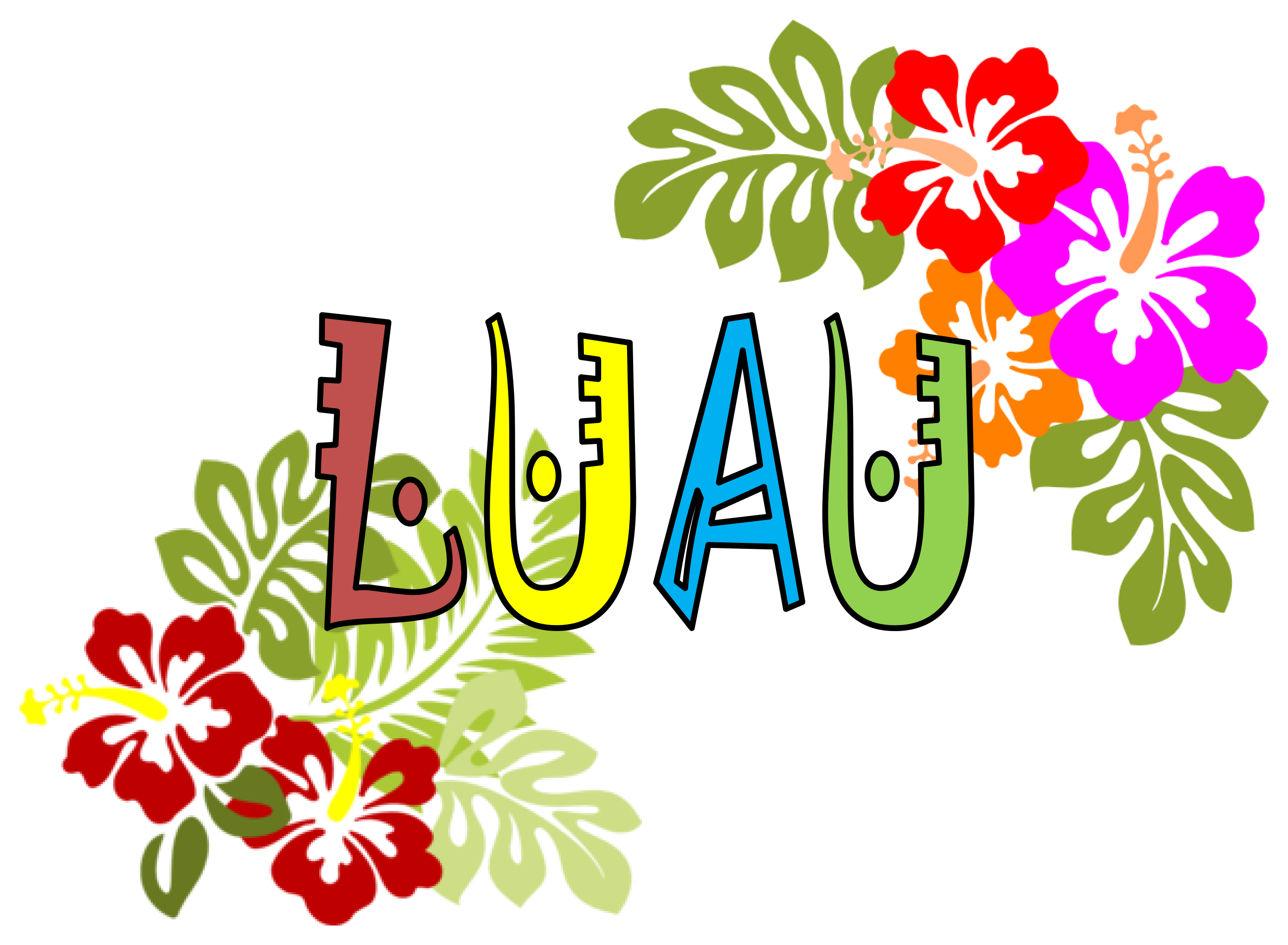 Luau Dinner Dance Sponsored By The Filipino Association - Luau Images PNG
