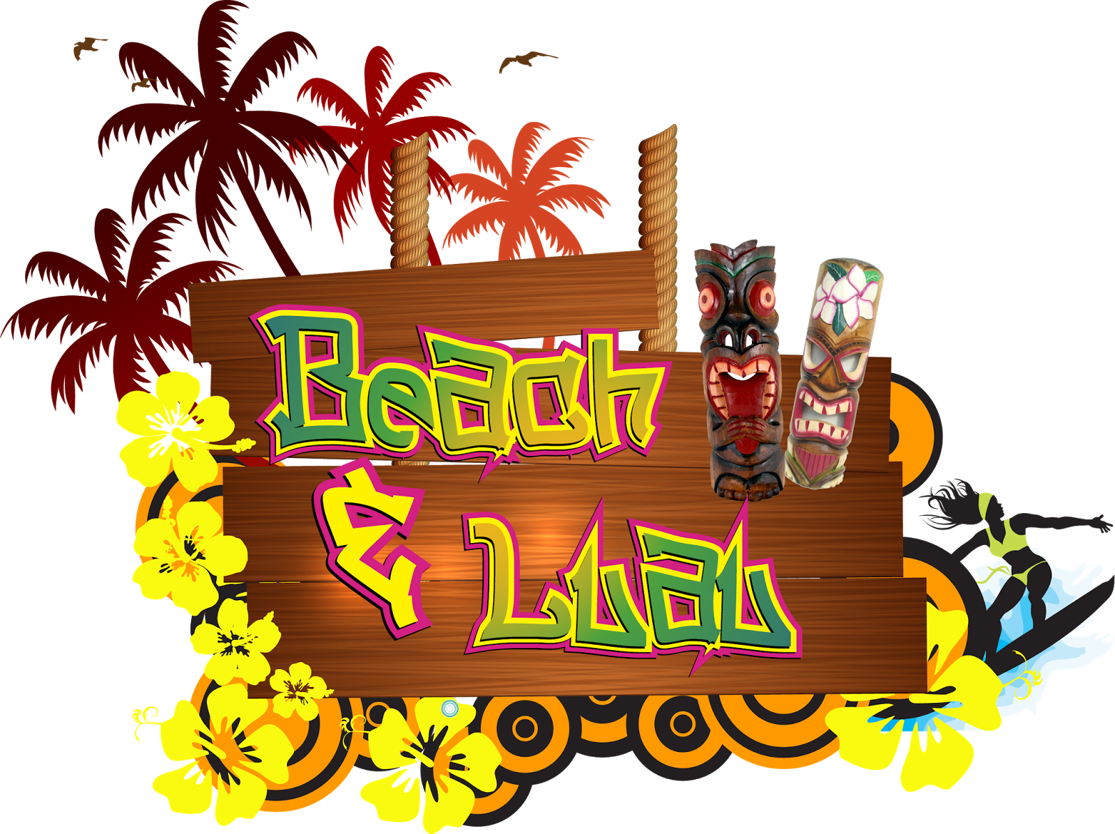 Luau Party PNG - 46537