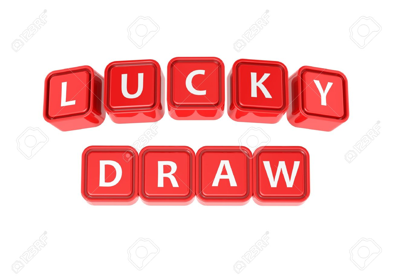 Buzzword Lucky draw Stock Photo - 14047901 - Lucky Draw PNG