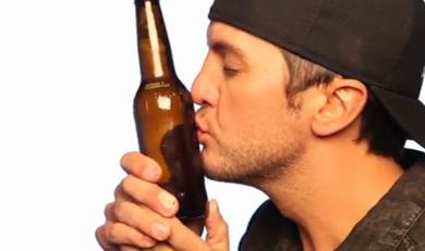 LB Beer PlusPng.com  - Luke Bryan PNG