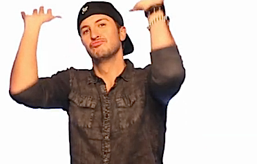 LB Beer LB Hands Up1111 LBbox - Luke Bryan PNG