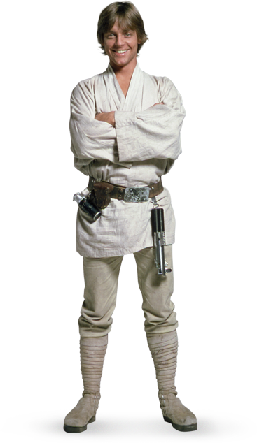 Image - Luke-skywalker starwars-1-.png | Animal Jam Wiki | FANDOM powered  by Wikia - Luke PNG