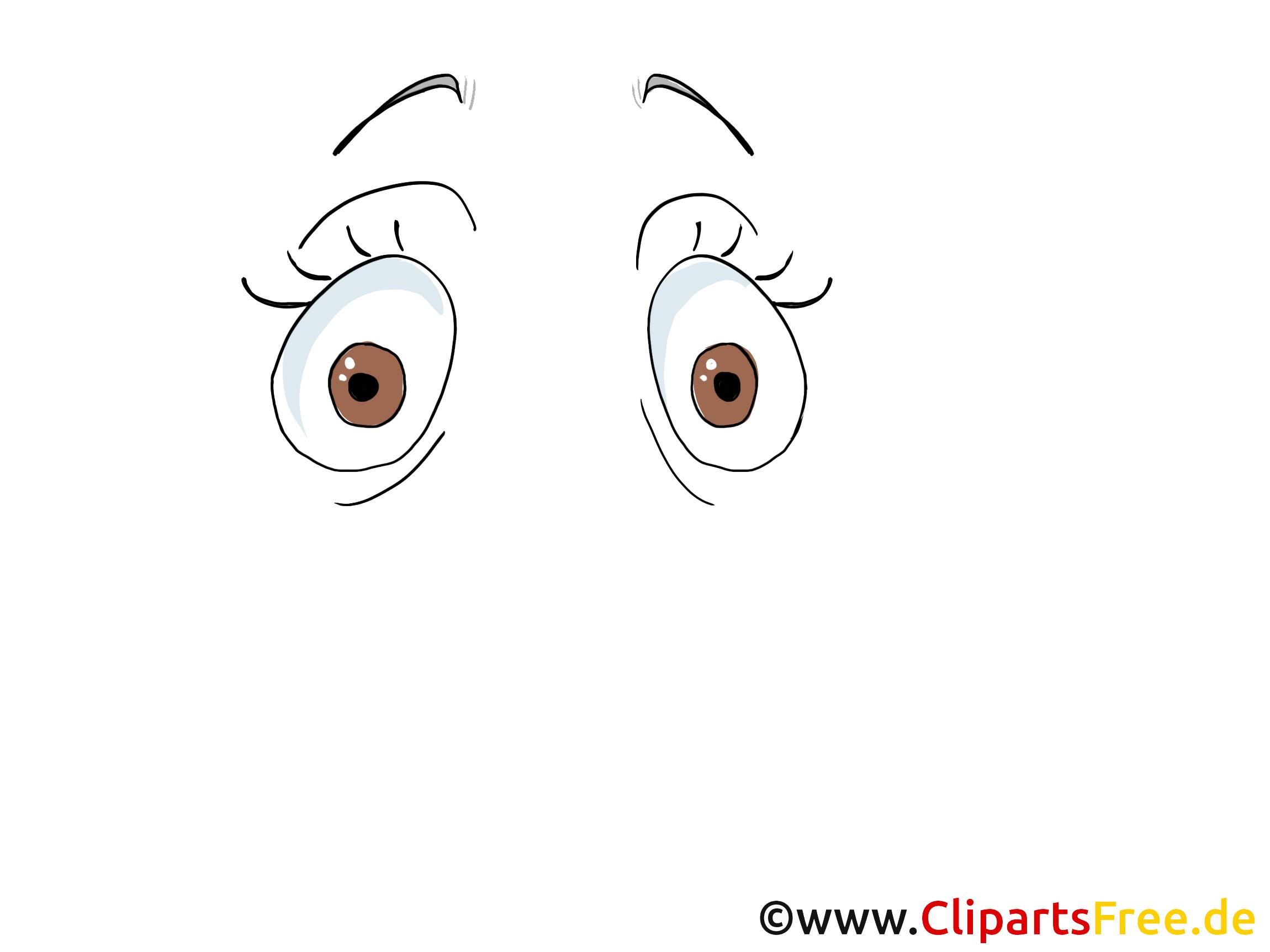 Augen zeichnen Bild, Zeichnun