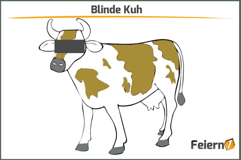 Blinde Kuh - Lustige Kuh PNG