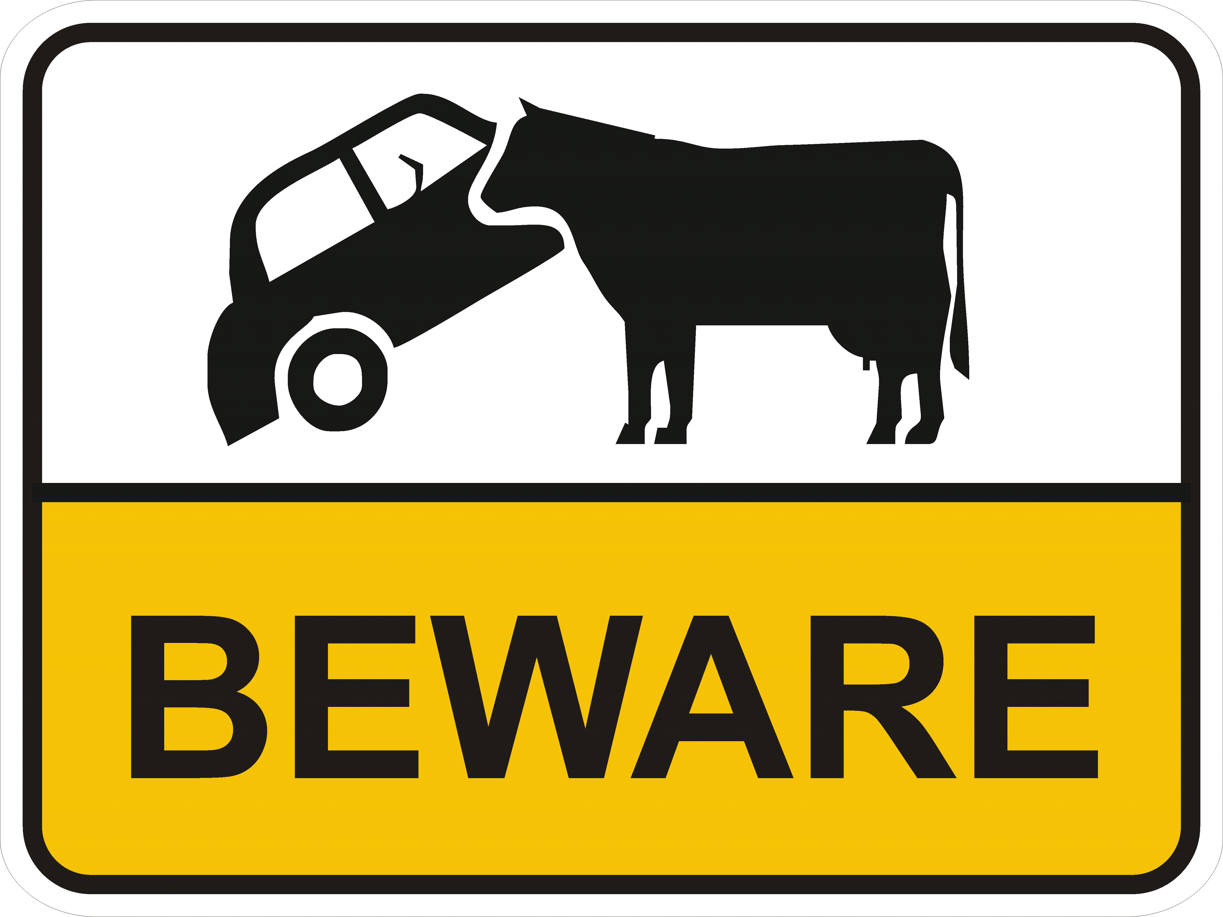 Verkehrsschild Australien Aut