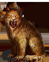 Desert Lynx.png - Lynx PNG