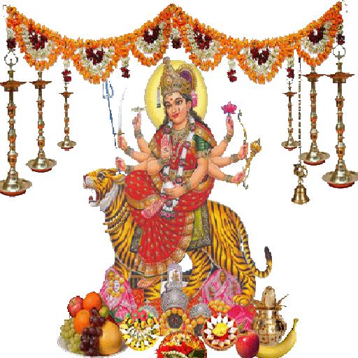 Maa Durga PNG HD-PlusPNG.com-512 - Maa Durga PNG HD