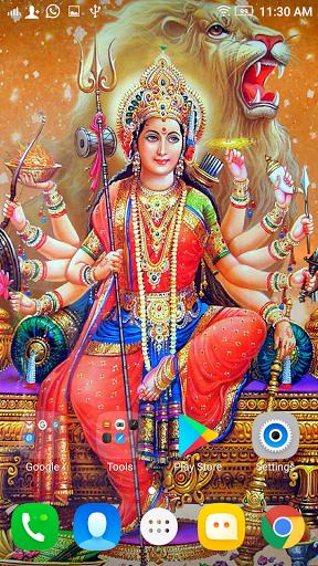 . PlusPng.com Durga Maa HD Wallpaper : Navratri 2017 PlusPng.com  - Maa Durga PNG HD
