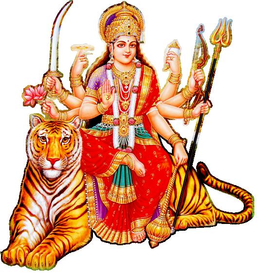 Goddess Durga Maa Picture PNG Image - Maa Durga PNG HD