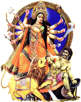 Goddess-Durga-Maa-PNG-Picture - Maa Durga PNG HD