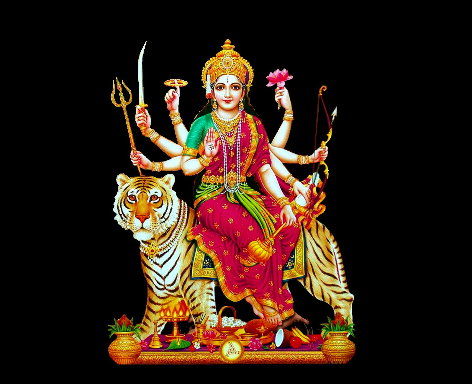 Latest Durga Matha Png Image For Free Kali Maa Png Images Free For Banner  Design Here - Maa Durga PNG HD