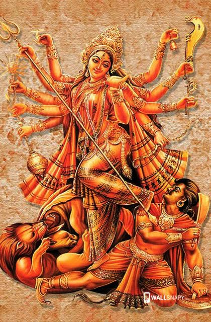 New Hd Wallpaper For Maa Durga - Maa Durga PNG HD