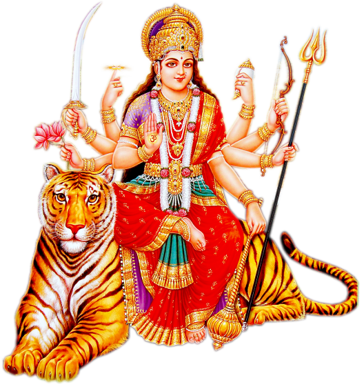 Goddess Durga Maa Picture PNG