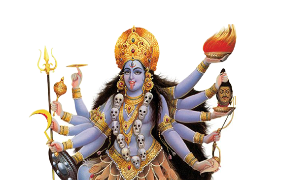 Kali Matha Prayers (Puja) - Maa Kali Images PNG