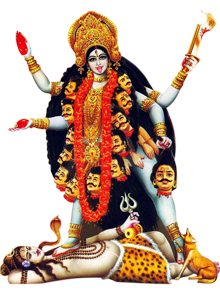 Kali Maa Murti from Black Mar