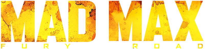 File:Mad Max Fury Road film Logo.png - Mad Max PNG