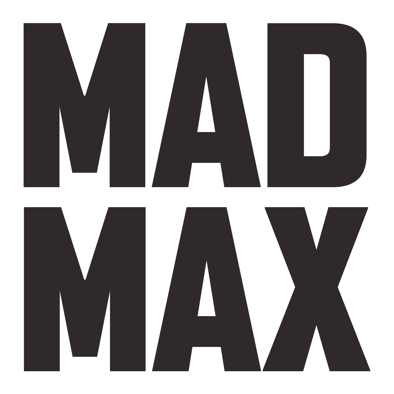 File:Mad Max (logo).png - Mad Max PNG