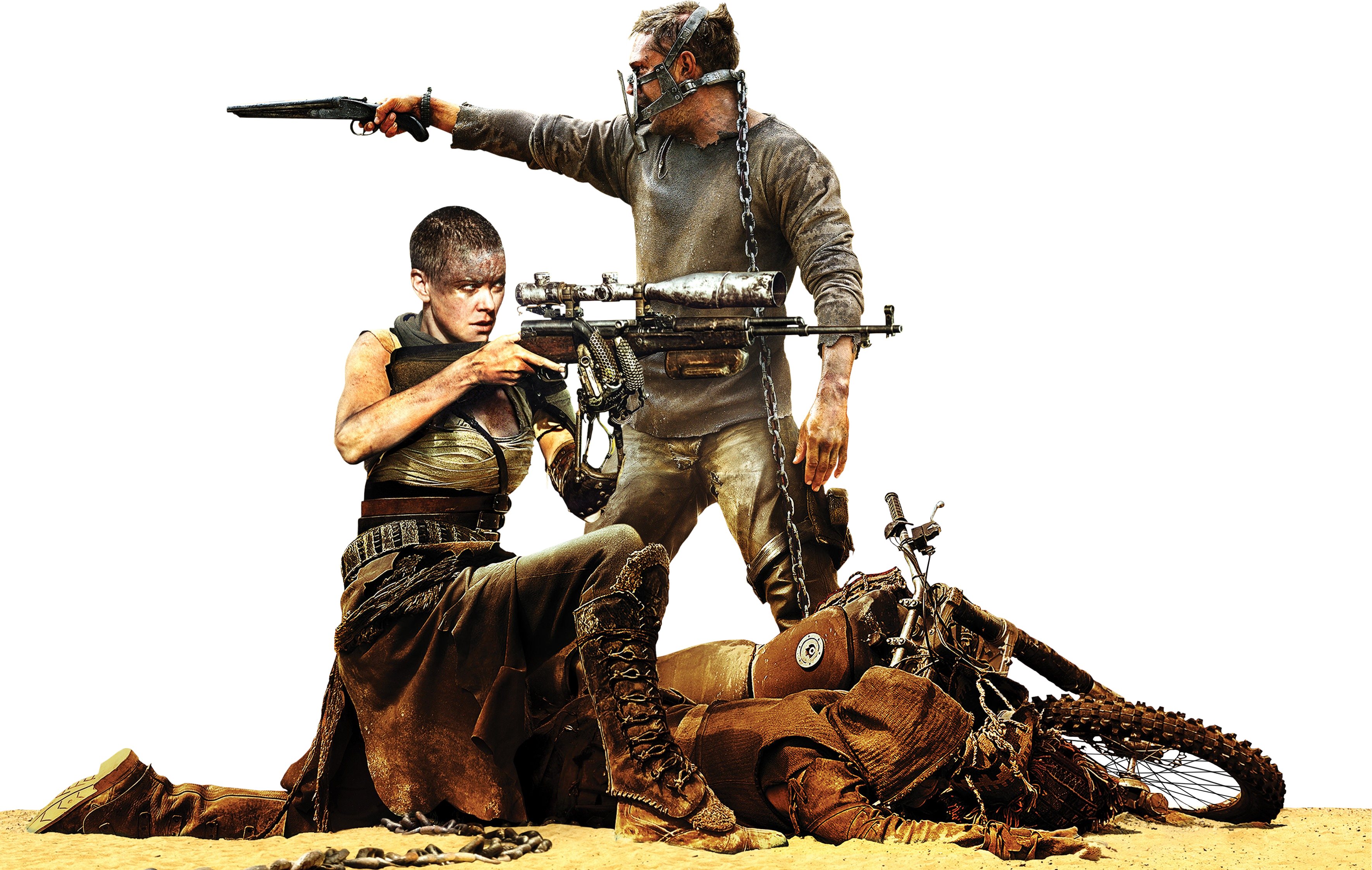 . PlusPng.com Mad Max Fury Road Render 3541x2246 by sachso74 - Mad Max PNG