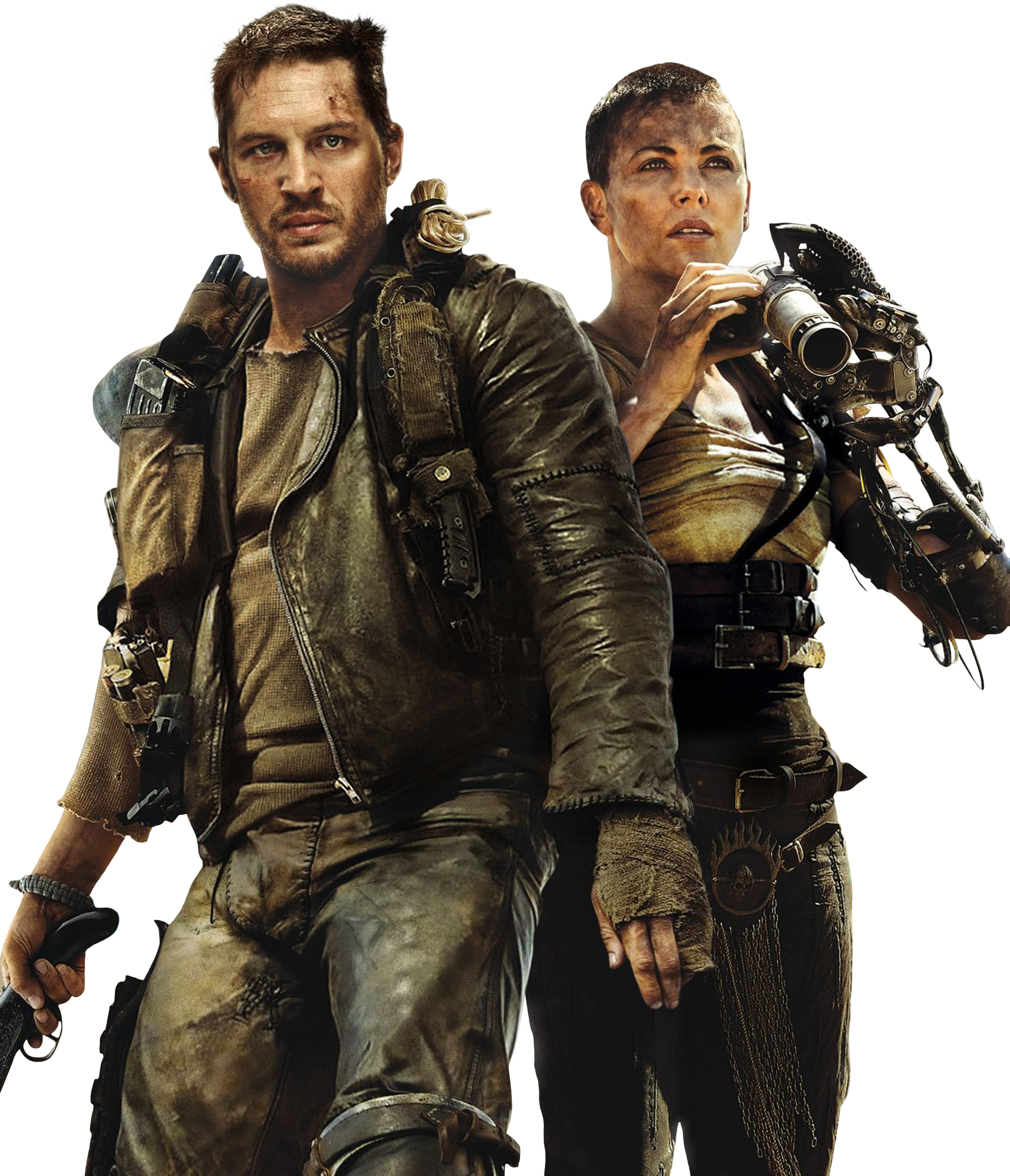 . PlusPng.com Mad Max Fury Road Render by sachso74 - Mad Max PNG