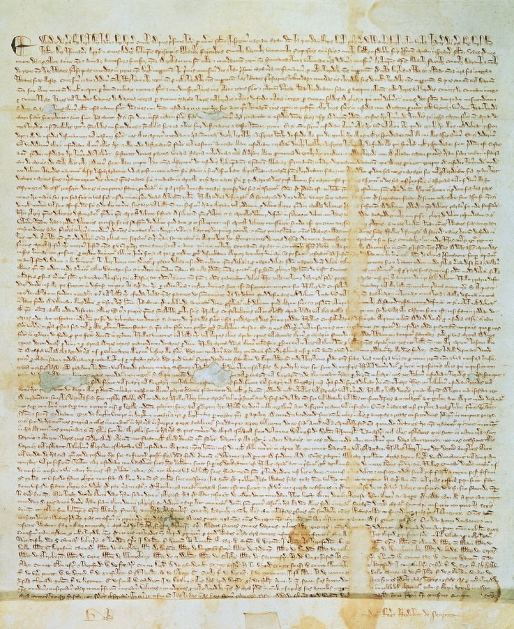 File:Magna Carta (1297 version, owned by David M Rubenstein).jpg - Magna Carta PNG