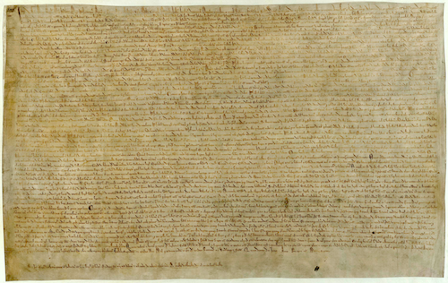 Magna Carta (1215) is a document that restricted the power of the king of  England. Written and forced into law by rebellious barons, it established  that no PlusPng.com  - Magna Carta PNG